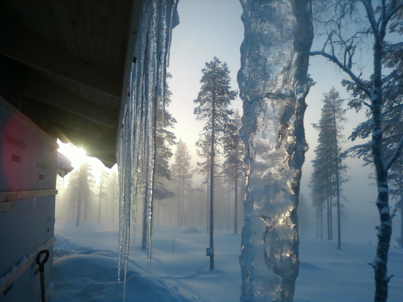 En kall morgon i Himmelfjäll