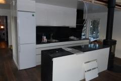 Köket i ett Anebyhus som vi byggde i Lofsdalen